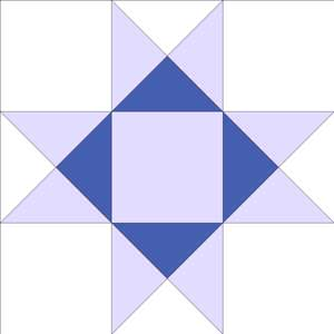 Free Quilt Pattern For 8 Point Star : QUILT EIGHT POINTED STAR PATTERN My Quilt Pattern